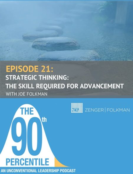 The 90th Percentile Podcast- Strategic Thinking