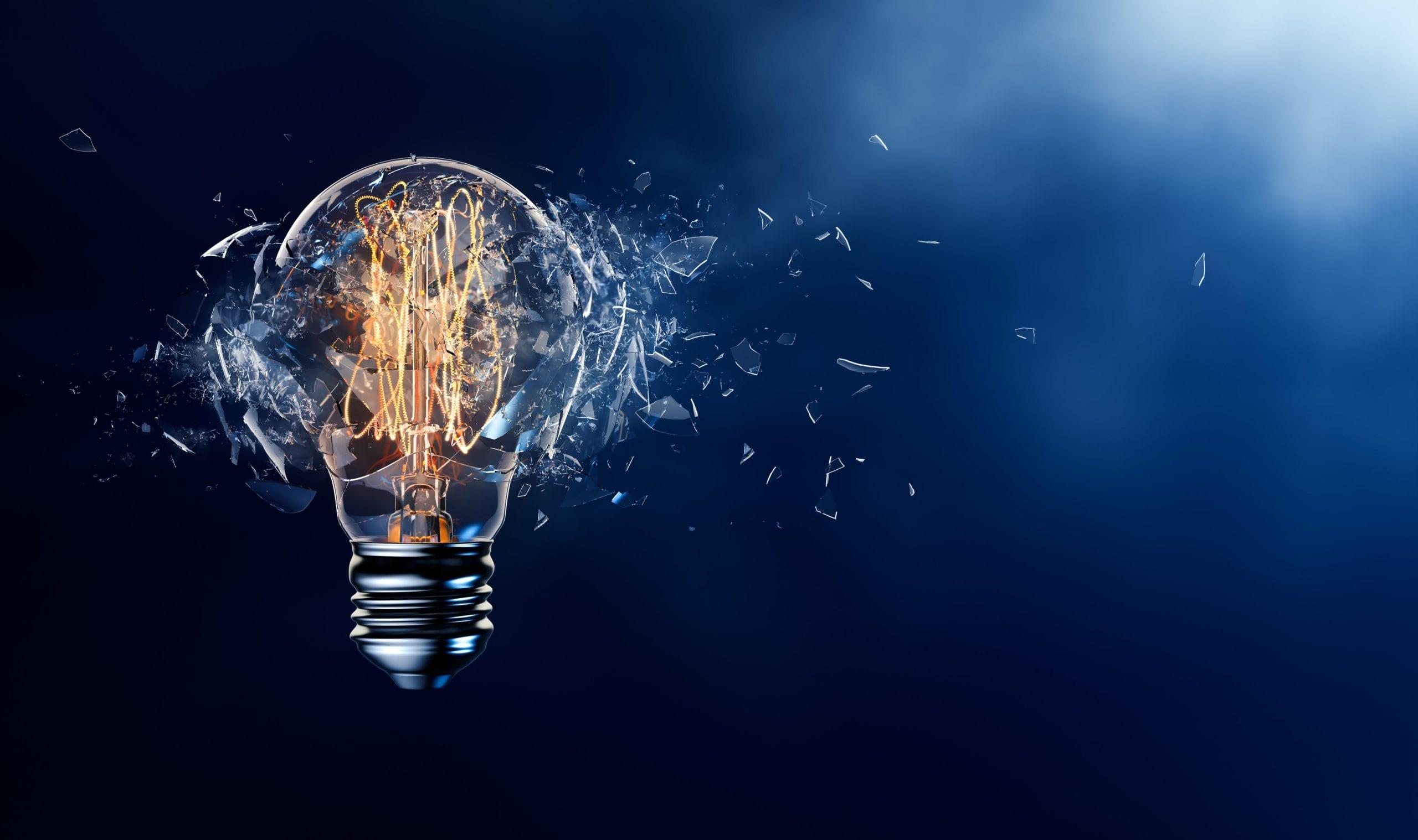 Lightbuld leadership innovation